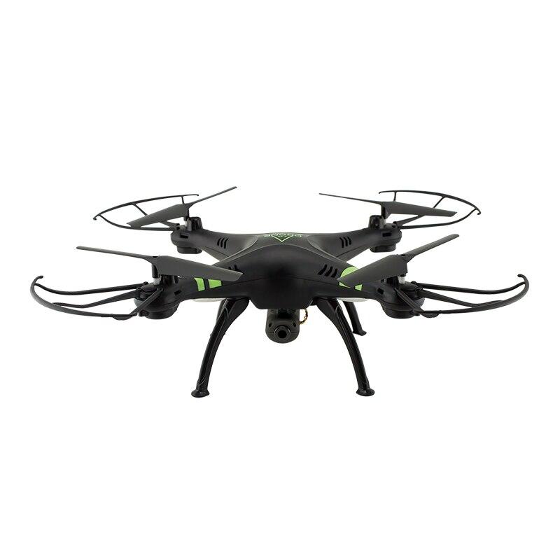 X53 2,4 ГГц 0,3 МП Камера дистанционный Радиоуправляемый один ключ снять квадрокоптеров RC беспилотный летательный аппарат - Цвет: black