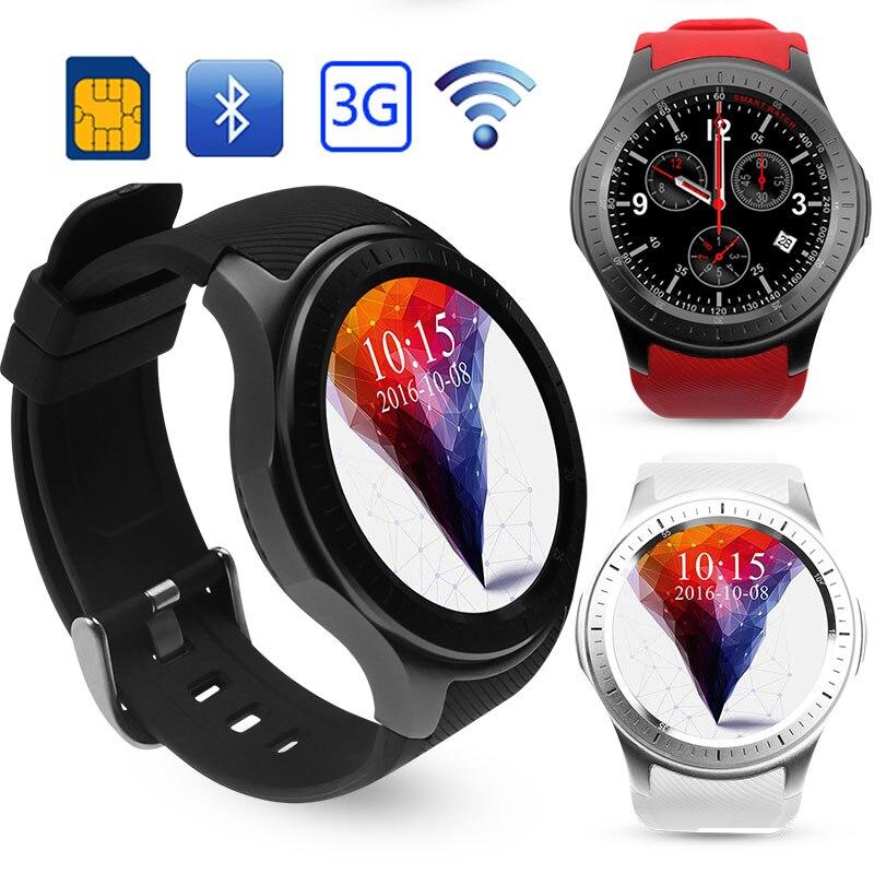 DM368 3G Android Phone Smart Watch Smartphone 8GB MTK6580 Quad Core IPS WCDMA GPS Bluetooth WIFI WCDMA APP PK DM98 KW88 Xiaomi bluboo x3 android 4 4 quad core wcdma smartphone w 4 5 ips gps wifi bluetooth 4gb rom black
