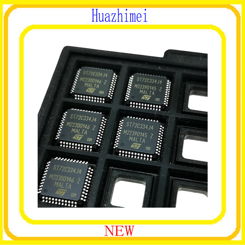5PCS/LOT New ST72C334J4 ST72C334 QFP44