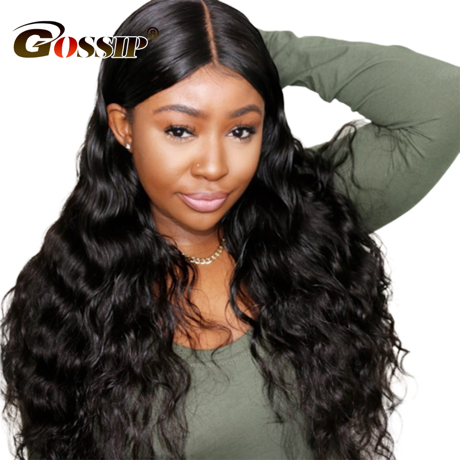 13x6 Lace Front Human Hair Wigs For Women Black Wig Peruvian Body Wave Lace Front Wig