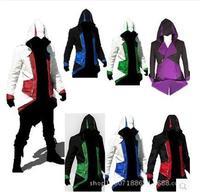 Zapewnienie Mcoser Halloween kostiumy dla kobiet 3 Nowy assassins creed Kenway kurtka męska anime cosplay ubrania dla chłopców dzieci