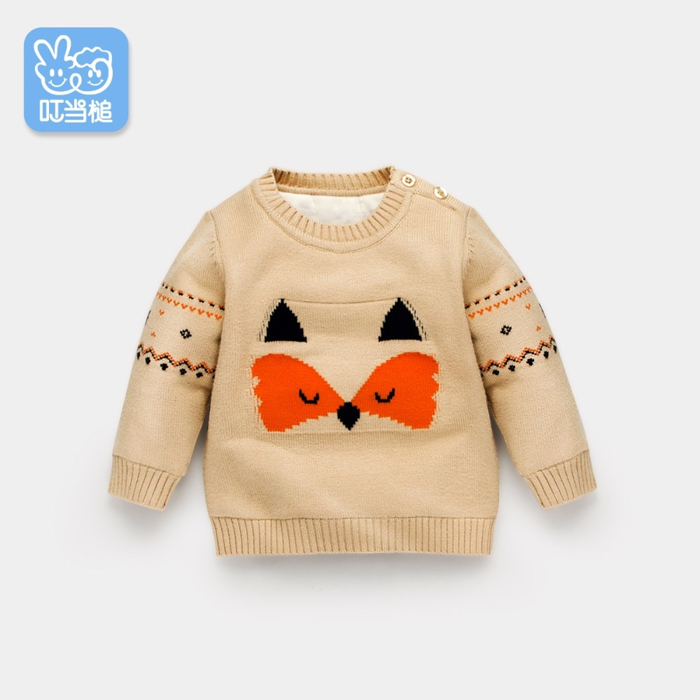 babys plus velvet sweater 2018 new childrens baby autumn and winter clothing bottoming shirt childrens fox sweaterbabys plus velvet sweater 2018 new childrens baby autumn and winter clothing bottoming shirt childrens fox sweater