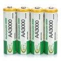 Nova 8 pcs bty ni-mh 1.2 v bateria recarregável 3000 mah aa 2a bateria baterias para a câmera
