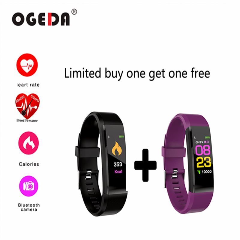 купить 2018 New Smart Man Watch Bracelet Heart Rate And Blood Pressure Monitoring IP67 Waterproof Bluetooth Connection For Android IOS недорого
