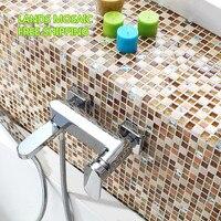 LSTC003 Kitchen Backplash Mosaic Tiles Wall Decoratived Mosaic Tiles Kitchen Tile Marble Mirror Mosaic