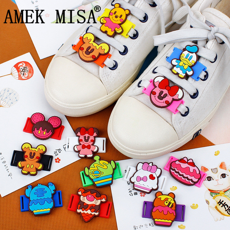 Shoe Decorations 13 Pcs A Set Novelty Cartoon Food Play Decorations Casual/sports Shoe Shoelace Charms Shoes Accessories Fit Children Gifts M432 Shoes