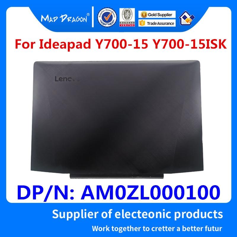 Nouveau Original 3D Caméra LCD Couverture Arrière Une Coque Pour Lenovo Ideapad Y700-15 Y700-15ISK Y700-15ACZ AM0ZL000100 5CB0K81629