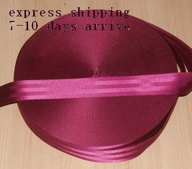 60 meters Roll Seat Belt Webbing Safety Strap Maroon Color 48mm Wide 5 Bars