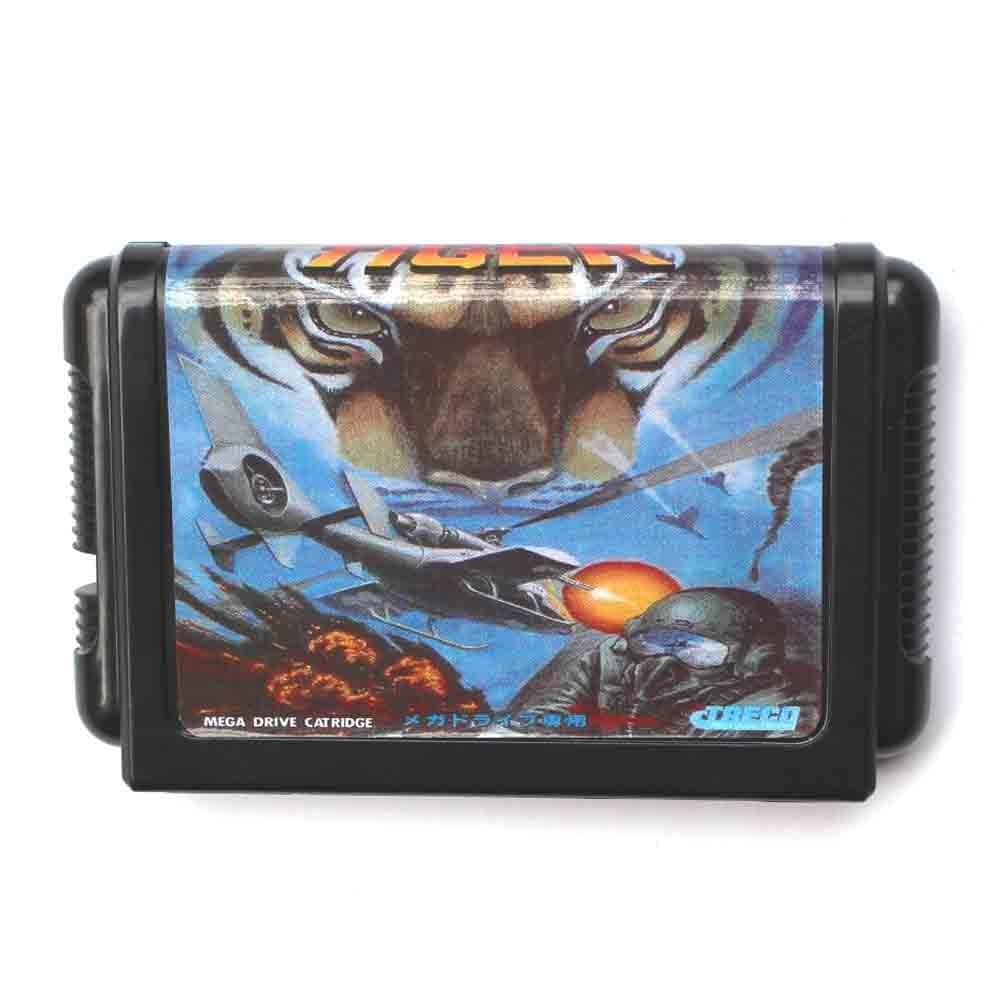 Tigre 16 bits MD Carte de Jeu Pour Sega Mega Drive Pour Genesis