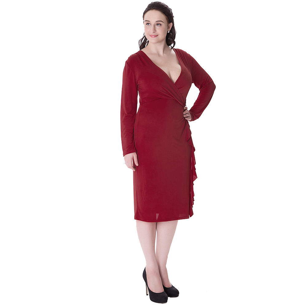 Dress plus bodycon size long dresses red are