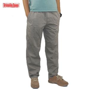 649e7cdfacce6 Arenaning Queen Cargo Pants Overall Cotton Men Trousers