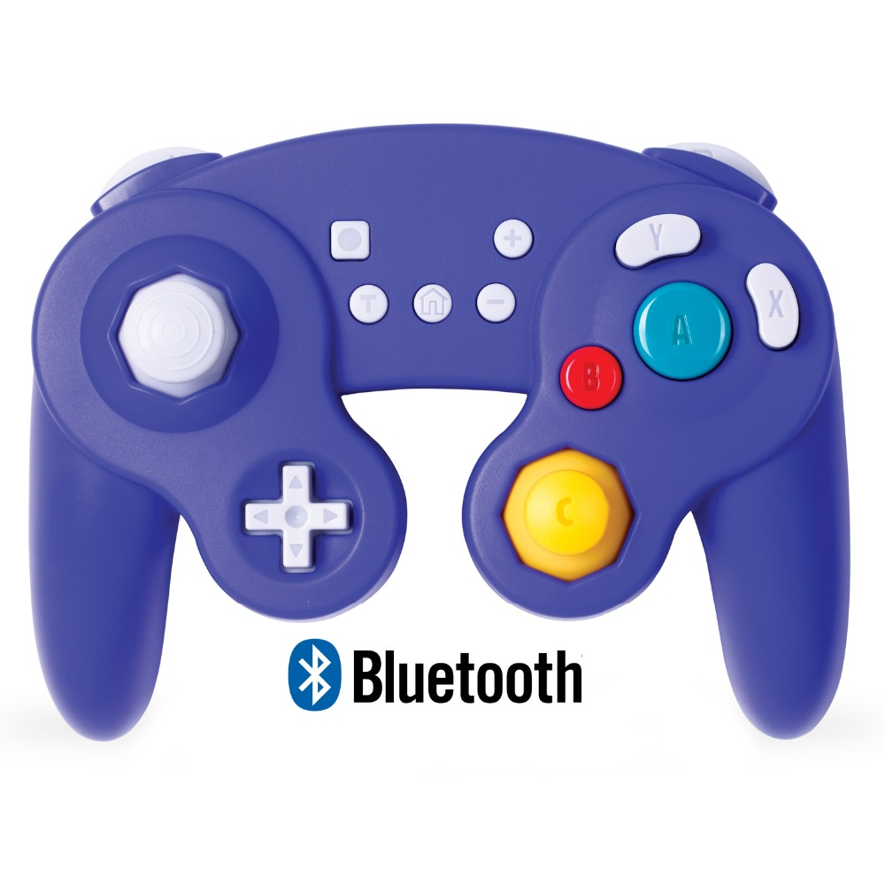 Exlene Wireless Gamecube Controller Switch Compatible with Nintendo Switch and PC Rechargeable Motion Controls Rumble Turbo