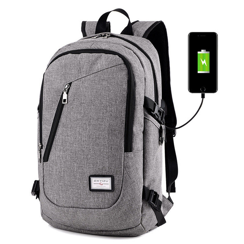 Unisex USB Backpack Oxford Mens Backpack Women Backpacks School Bag For Teenagers Laptop Backpack Large Capacity Travel Bag