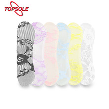 TOPSOLE A pair of silicone gel heel pad ladies protector foot care anti-friction high insert H1009