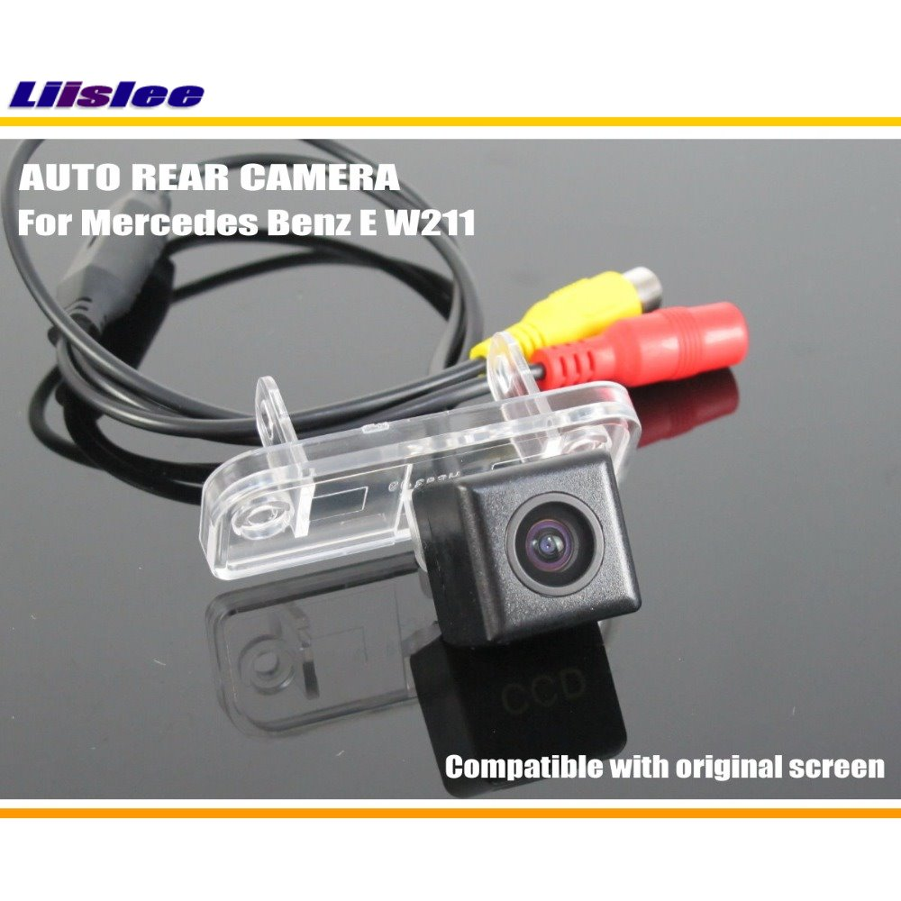 Liislee Car Back Up Reverse Camera For Mercedes Benz E W211 E280 Lcd Backup Wiring Diagram Get Free Image About E300 E320 Rear Parking Original Screen Compatible In Vehicle From