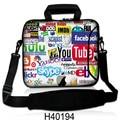 """сумка для ноутбука 10 """" 11 """" 12 """" 13 """" 13.3 """" 14 """" 15 """" 15.6 """" 17 """" 17.3 """" для ipad / macbook air ноутбук мешок школы мужчины женщины сумка для ноутбука аксессуары планшет самсунг сумка для ноутбука"""