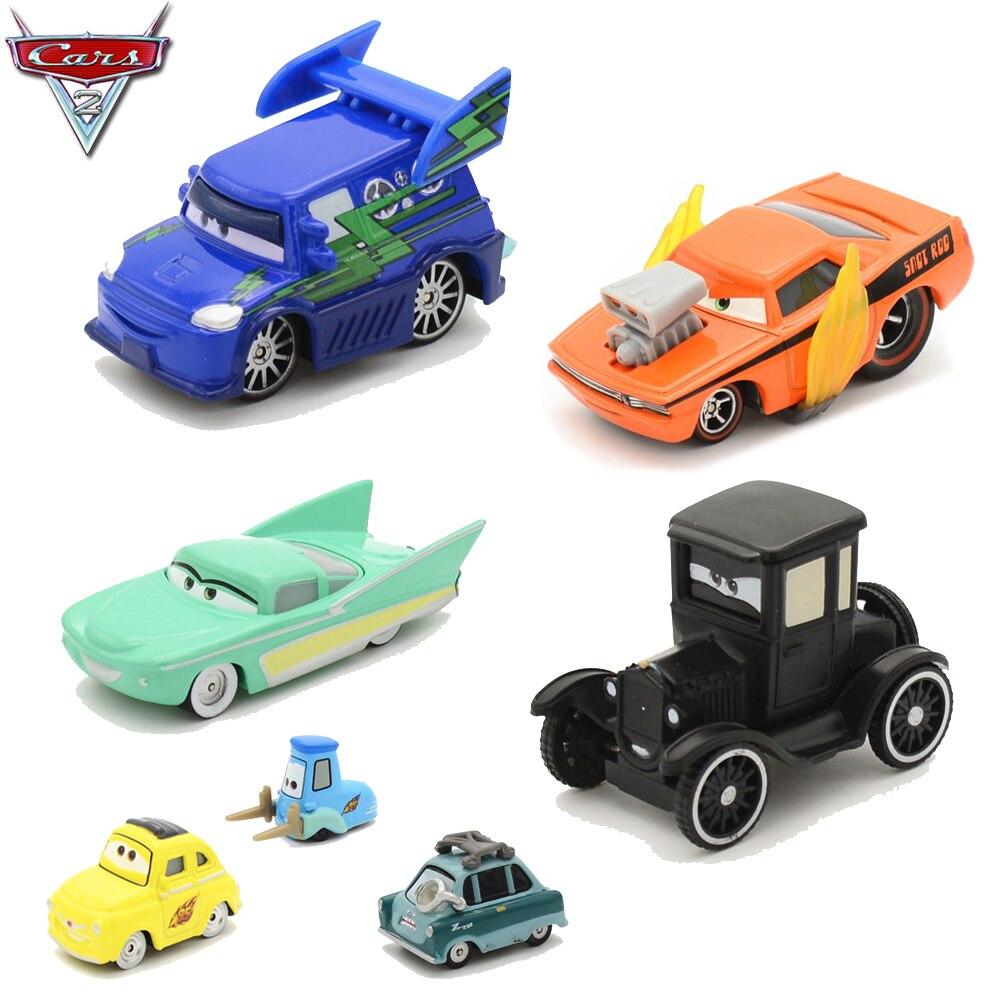 Disney Pixar Cars 2 3 Lightning Mcqueen Mater 1 55 Diecast Metal Model Car Birthday Gift Educational Toys For