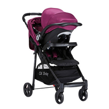 baby Stroller high landscape foldable baby cart basket plate suspension with safety