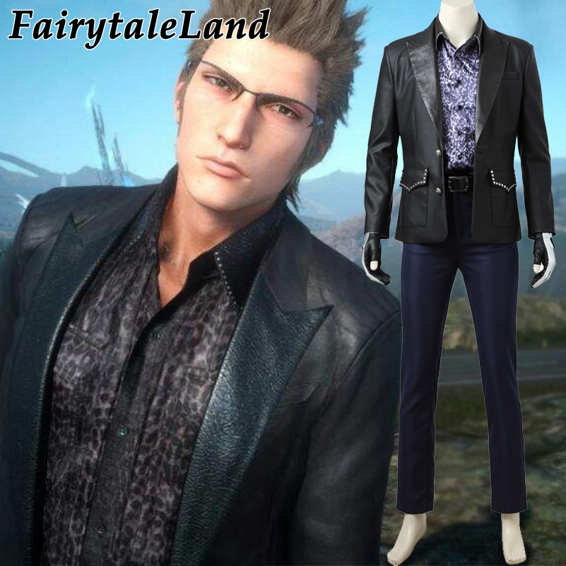 Final Fantasy XV Ignis Scientia cosplay costume Carnival Halloween costumes for adult Hot game FF15 Cosplay