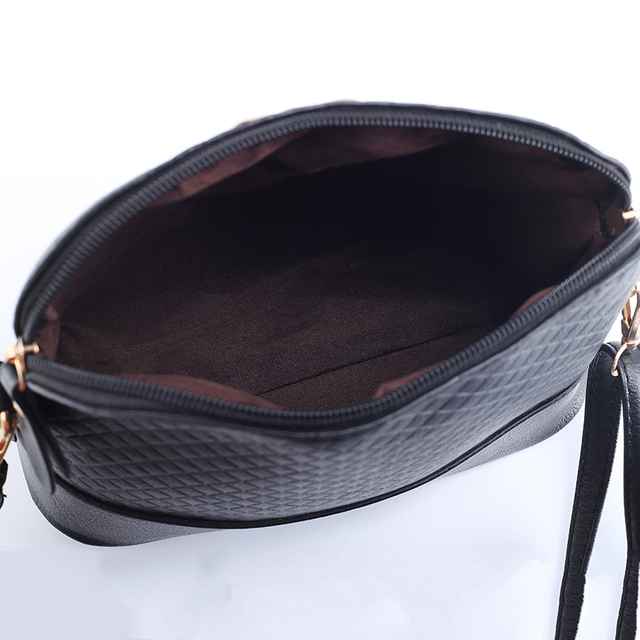 New Vintage PU Leather for Women Bags Fashion Small Shell Bag With Bowknot Ladies Shoulder Bag Spring Casual Crossbody Bags