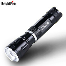 High Quality Super Light 3 Modes CREE Q5 2000LM Zoomable Mini LED Flashlight Torch Zoom Lamp Light