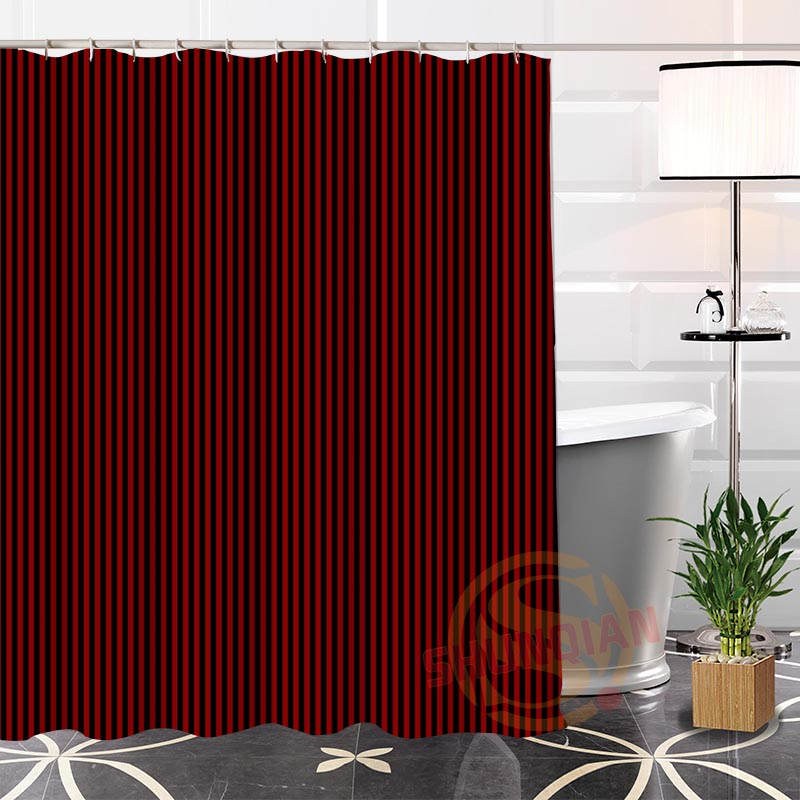 Best Nice Custom Solid Color Background Shower Curtain Bath Curtain ...