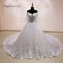 Angel married Bridal Gowns wedding dress 2018