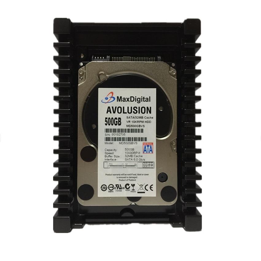 цена на VelociRaptor 500GB 10000 RPM 32MB Cache SATA 3.5