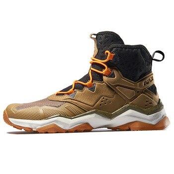 راكس الرجال أحذية التنزه الجبلية حذاء ارتحال المضادة للانزلاق الرجال تنفس مريحة لينة الأحذية الجبلية خفيفة الوزن المهنية