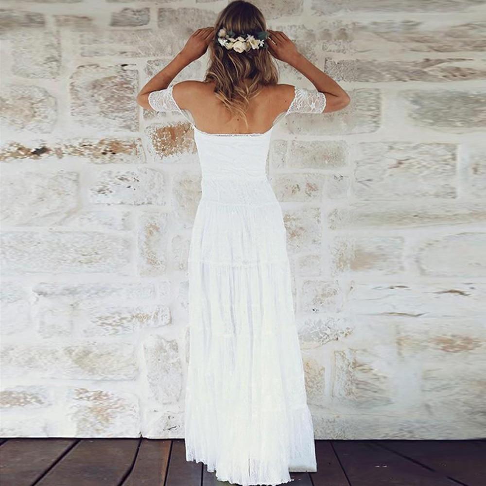 2018-short-sleeves-boho-wedding-dresses-off