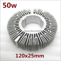 Free Shipping 2 Pieces 50w Pure Aluminium Heat Sink For Led Lamp Cooling DIY Led Light