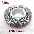 Envío Gratis 2 unidades 30 W 40 W 50 W 60 W 70 W 80 W 100 W 120 W Pure disipador de calor de aluminio para led lámpara de luz BRICOLAJE radiador de refrigeración.