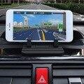 Universal vehículo teléfonos inteligentes soporte soporte del teléfono portátil de silicona antideslizante del sostenedor del soporte de navegación gps para iphone
