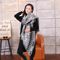 luxury brand Women Cashmere Blanket Scarf designer foulards femme pashmina shawl tassels plaid warm winter large Blanket Scarf