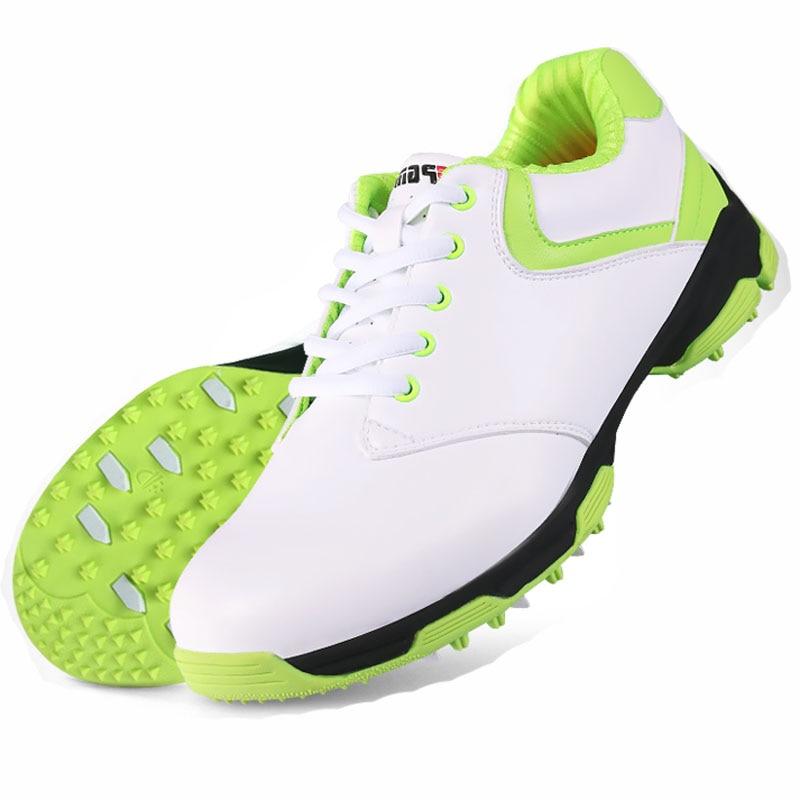 48deb9a6b 2016 نماذج جديدة حقيقية pgm الغولف الأحذية الذكور المستوردة سوبر الألياف  الجلدية السوبر للماء الأحذية الرياضية