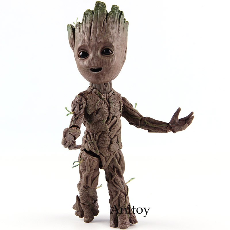 Hot Toys Guardians of the Galaxy Figure Action Baby Tree Man PVC Collectible Model Toy