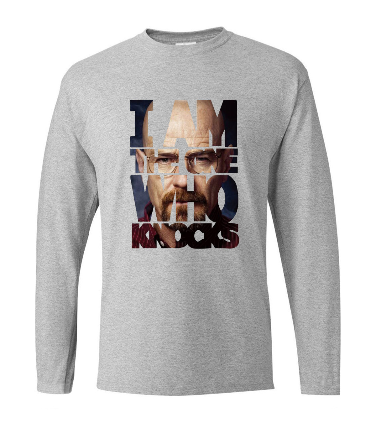 Fashion Breaking Bad Heisenberg Camisetas Hombre men's long sleeve T-shirts 2019 new spring cotton high quality fitness t shirt
