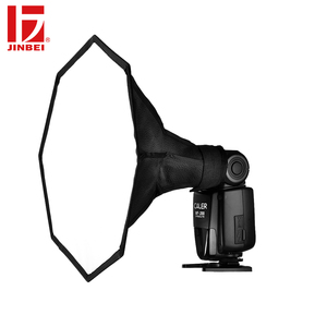 Image 2 - JINBEI Universal 20 cm Octagon en la Cámara difusor de Flash plegable Softbox para Flash Speedlite retrato foto estudio Accesorios
