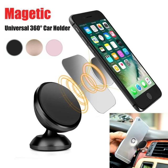 quality design a48d6 0a814 Car styling Universal Cell Phone GPS Mobile Car Magnetic Dash Mount Holder  For iPhone 6 plus Jun5-in Universal Car Bracket from Automobiles & ...