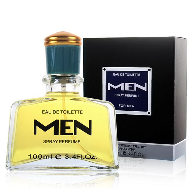100ML High capacity Men Perfumed Bottle Long Lasting Fragrance Spray Men's Cologne Perfumed Parfum Eau De Cologne Deodorant