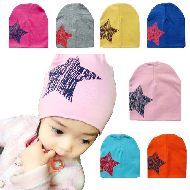 Bebé estrella invierno primavera sombrero bebé caliente niña Cap algodón  bufanda gorros bebé niños niño sombreros 6f54ed741ed