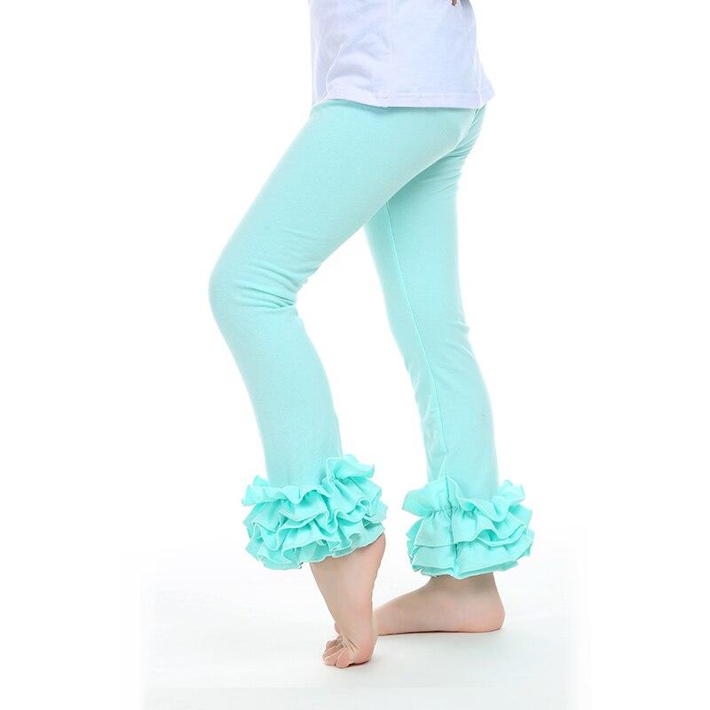 81547b6711a73 US $8.05  Girls Leggings Girl Ruffle Pants Retail One Piece Red Christmas  Baby Kids Leggings Ruffled Fall Winter Kids Pants Leggings Baby-in Pants ...