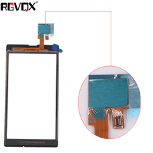 New Front Panel For Sony Xperia L S36H C2105 C2104 Touch Screen Sensor Digitizer Outer Glass Repair Replacement 50pcs new black touch screen digitizer panel glass lens replacement parts for sony xperia z4 repair part dhl free shipping
