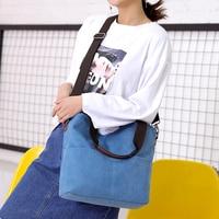 Betterance 2019 Solid Canvas Shoulder Bags Environmental large capacity tote bags Crossbody Bags Purses Casual Handbag For Women