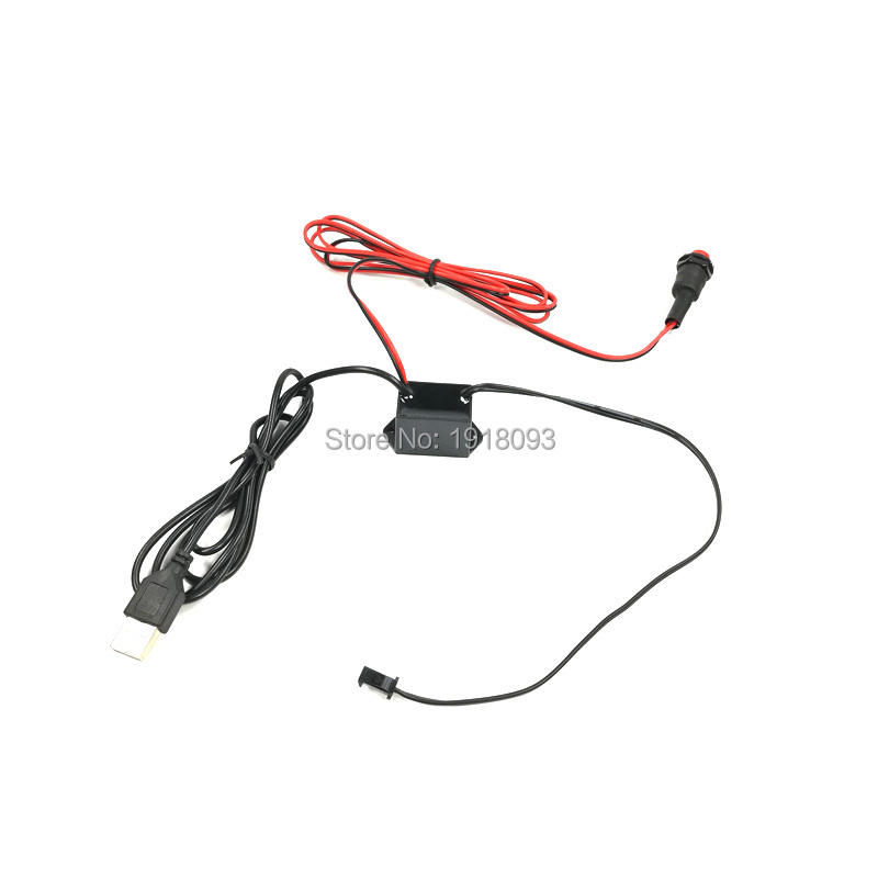 DC-5V USB 1-6 Meters EL Driver Button Control Hot Sales Flexible Product For Holiday Lighting Supplies
