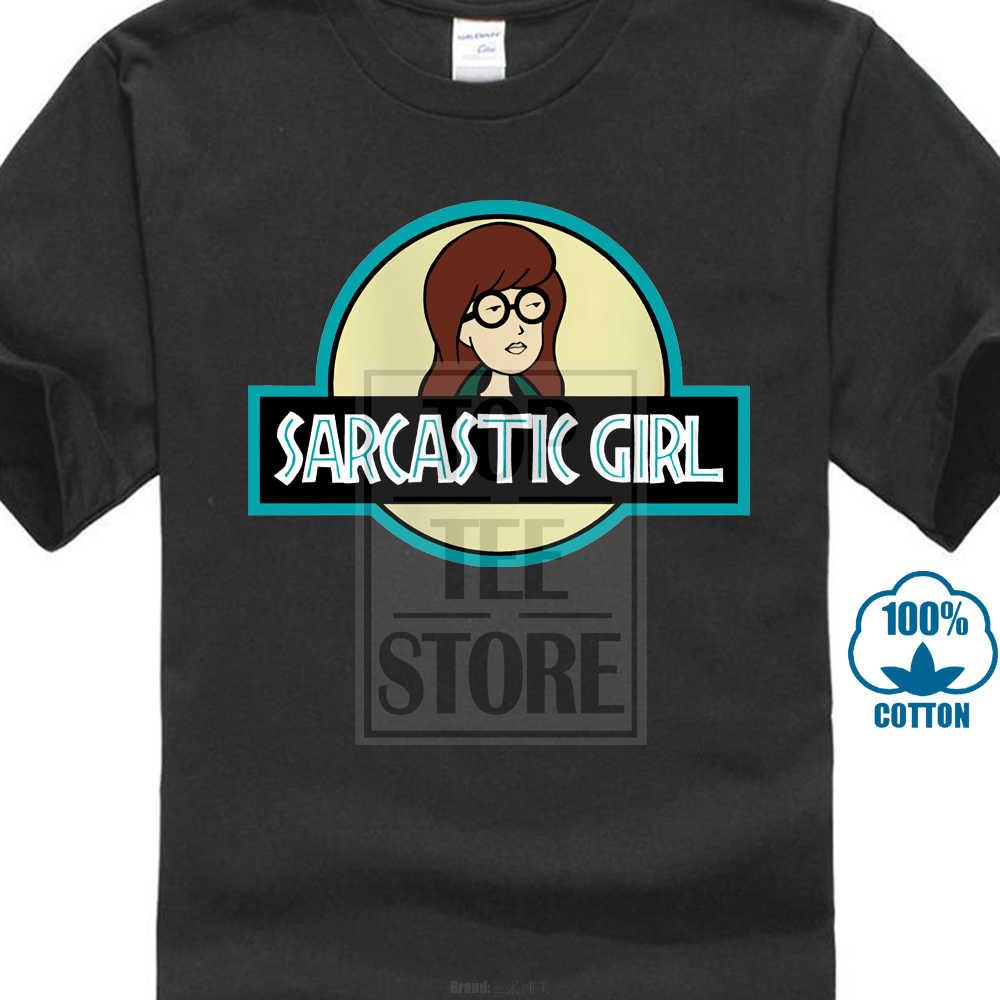 209eb624a Daria Sarcastic Girl T Shirt Men Summer Fashion T Shirt Casual Print O Neck  Print Male