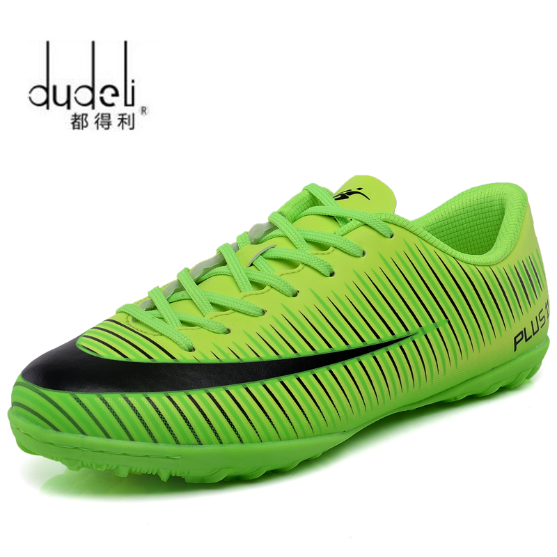 8f7abead3 Detail Feedback Questions about DUDELI Professional Men Turf Indoor Soccer  Shoes Cleats Kids Original Superfly futsal Football Boots Sneakers chaussure  de ...
