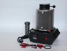 1kg 220V Previous Gold Melting Furnace Starting Kit Melt Gold and Silver Pouring Kit