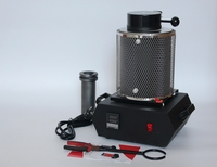 1kg 220V Previous Gold Melting Furnace Starting Kit Melt Gold and Silver Pouring Kit