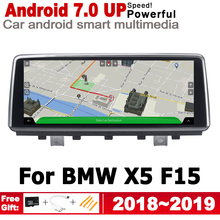 Android 7.0 up Car radio GPS multimedia player For BMW X5 F15 2018~2019 EVO Navigation Map 2G+16G 2 Din HD Screen Stereo WiFi BT